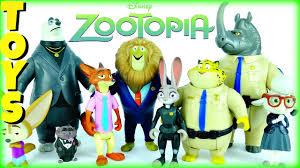 disney halloween figurines disney zootopia toys 14 figures with judy hopps nick wilde more