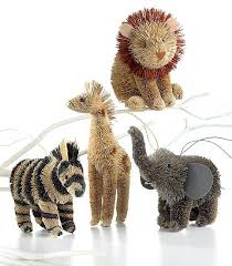 martha moments martha s buri animal ornaments