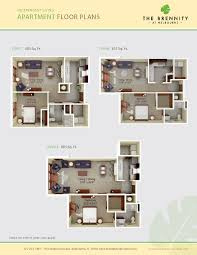 Assisted Living Facility Floor Plans Independent Living Options At The Brennity At Melbourne Florida