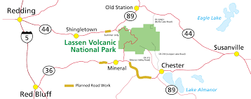 Map Of Monument Valley Alerts U0026 Conditions Lassen Volcanic National Park U S National
