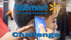 walmart challenge how to cut hair with conair clippers youtube