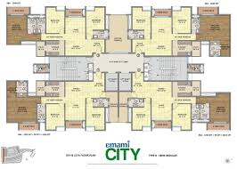 floor plan emami city at jessore road kolkata emami group