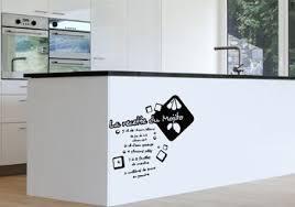stickers recette cuisine sticker mural de cuisine la recette du mojito plusieurs coloris