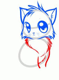 draw tails kitty tails cat step 5 dragoart tutorials