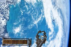 Saturn Ion Horn Location Roll Out Solar Array Experiment Deploys Nasa