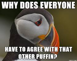 Puffin Meme - sad puffin meme on imgur