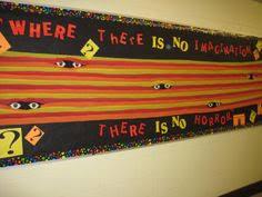 thanksgiving high school library bulletin board west orange high