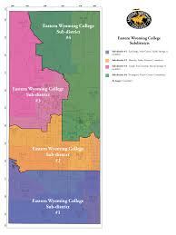 Wy Map Outreach Campuses Map Eastern Wyoming College Eastern Wyoming