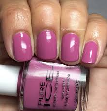 Mauve Color by My Nail Polish Obsession Pure Ice All Class Color Collection