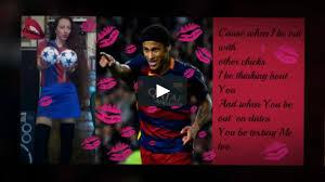 neymar jr kissin u0027 on my tattoos on vimeo