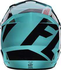 fox helmet motocross 2017 v1 race helmet green