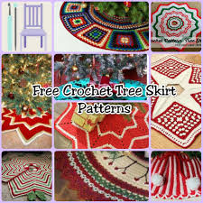 crochet tree skirt pattern free rainforest islands ferry