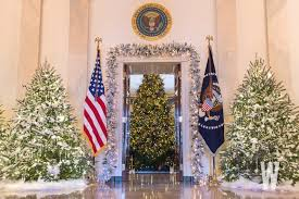 pictures of christmas decorations in homes photos the 2017 white house christmas decorations washingtonian