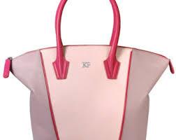 Light Pink Leather Purse Pink Leather Handbag Etsy