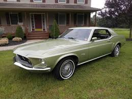 1969 mustang grande for sale ford mustang coupe 1969 green for sale 9t01f216157 1969 mustang
