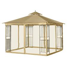 House Structure Parts Names by Shop Gazebo Parts U0026 Accessories At Lowes Com