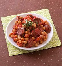cuisiner pois chiches poêlées de pois chiches au chorizo et tomates les meilleures
