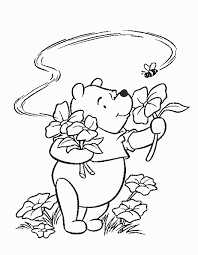winnie pooh coloring pages stempel disney
