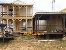 sheds fences u0026 decks sheds 2 story office building completed