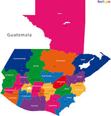 Guatemala Flag Guatemala Map Blank Political Guatemala Map With Cities