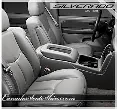 2002 Silverado Interior 1999 2006 Chevrolet Silverado Custom Leather Upholstery