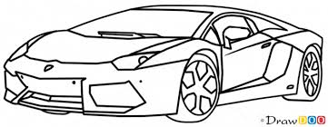 sketch of lamborghini gallardo executive wraps on lamborghini