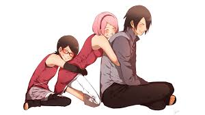 sasuke and sakura sasuke and sarada uchiha wallpaper 36550