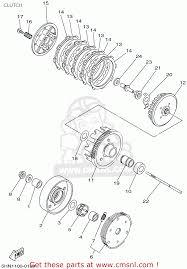 yamaha ttr90 offroad 2002 2 usa clutch schematic partsfiche