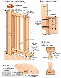 How To Build A Banister How To Build A Cedar Deck Railing With Glass Family Handyman