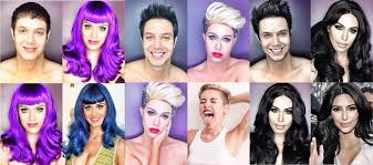paolo ballesteros diy celebrity makeup transformations have been earning him some buzz as he posts photos of himself as various a list celebrities