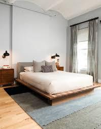 Solid Wood Platform Bed Bedroom Design Modern Platform Bed Frame Wooden Platform Bed