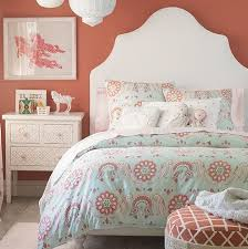 Blue And Coral Bedding Nursery Notations New Crib Sets From Serena U0026 Lily