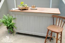 industrial gray kitchen island makeover and the joy of finding