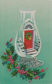 367 best old fashioned christmas cards doorways images on