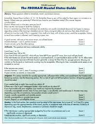 100 brief cognitive rating scale guide assessments effects