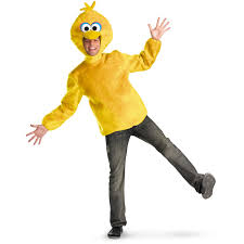 halloween costumes for a guy sesame street big bird male costume buycostumes com
