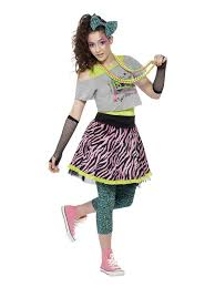 costume for 80 s to wear to theme or