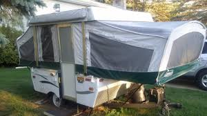 coleman popup camper awning rvs for sale