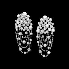 piaget earrings white gold pearl diamond earrings piaget luxury jewellery g38lf100