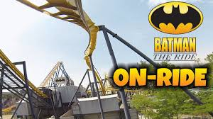 Six Flags New Jersery Batman The Ride On Ride Front Seat Hd Pov Six Flags Great