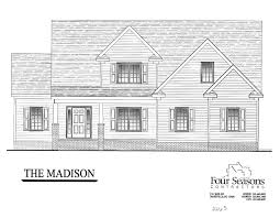 House For Plans The Madison Four Seasons Contractors 252 462 0022
