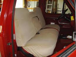 1986 1991 ford truck regular cab front high back bench seat with