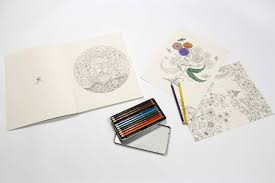Drawings Of Children Working In A Garden Secret Garden Artist U0027s Edition 20 Drawings To Color And Frame