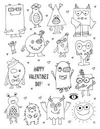 free valentine coloring pages free valentines coloring pages