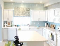 blue kitchen backsplash kitchen backsplash white cabinets awesome creative design blue
