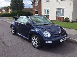 volkswagen beetle convertible vw beetle convertible 2004 1 year mot 61k miles automatic cheap