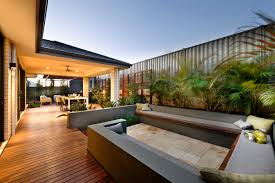 Outdoor Areas by Centered Conversation Social Pit Sunken Sitting Areas To Fit Your