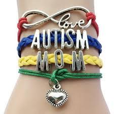 love charm leather bracelet images Infinity love autism mom grandma awareness heart charm jpg