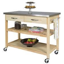 furniture home wood kitchen islands carts wayfair jefferson cart