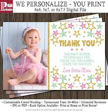 thank you 1st birthday cards winclab info
